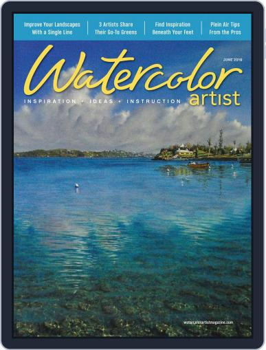 Watercolor Artist (Digital) April 19th, 2016 Issue Cover
