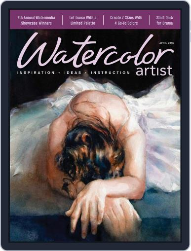 Watercolor Artist (Digital) February 16th, 2016 Issue Cover