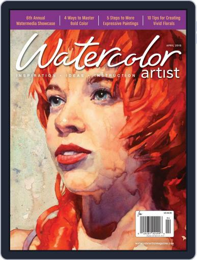Watercolor Artist (Digital) February 17th, 2015 Issue Cover