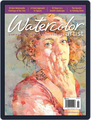 Watercolor Artist (Digital) December 10th, 2013 Issue Cover