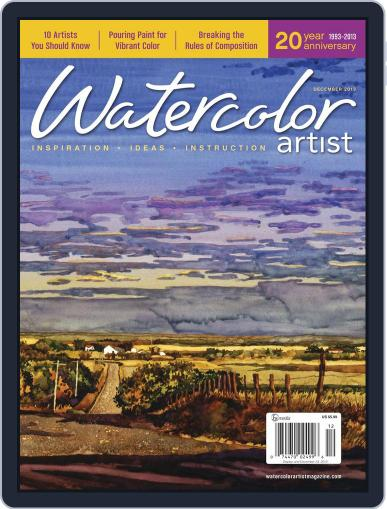 Watercolor Artist (Digital) October 8th, 2013 Issue Cover