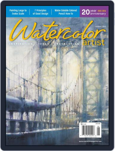 Watercolor Artist (Digital) June 4th, 2013 Issue Cover