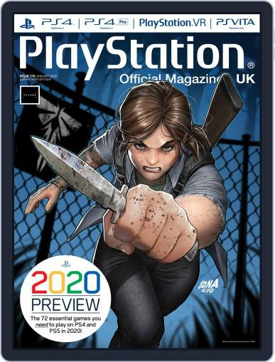 Official PlayStation Magazine - UK Edition (Digital) January 1st, 2020 Issue Cover
