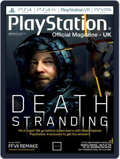 Official PlayStation Magazine - UK Edition (Digital) November 1st, 2019 Issue Cover