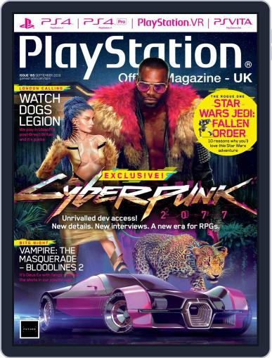 Official PlayStation Magazine - UK Edition (Digital) September 1st, 2019 Issue Cover