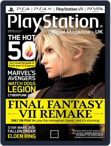 Official PlayStation Magazine - UK Edition (Digital) August 1st, 2019 Issue Cover
