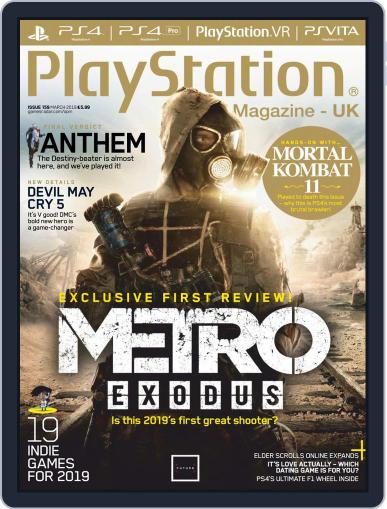 Official PlayStation Magazine - UK Edition (Digital) March 1st, 2019 Issue Cover