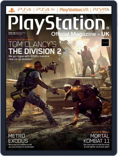Official PlayStation Magazine - UK Edition (Digital) February 1st, 2019 Issue Cover