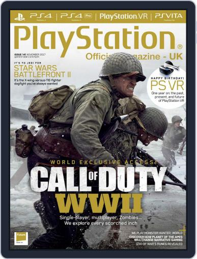 Official PlayStation Magazine - UK Edition (Digital) November 1st, 2017 Issue Cover