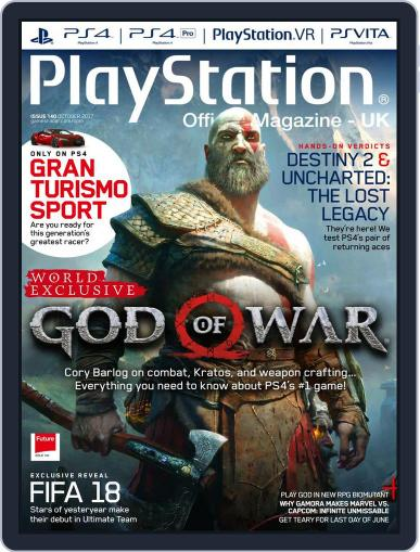 Official PlayStation Magazine - UK Edition (Digital) October 1st, 2017 Issue Cover