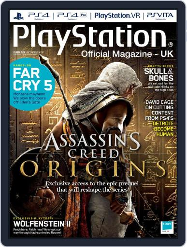Official PlayStation Magazine - UK Edition (Digital) September 1st, 2017 Issue Cover