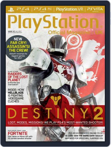 Official PlayStation Magazine - UK Edition (Digital) July 1st, 2017 Issue Cover