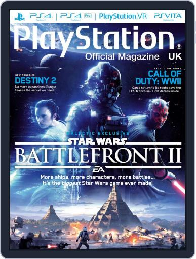 Official PlayStation Magazine - UK Edition (Digital) June 1st, 2017 Issue Cover