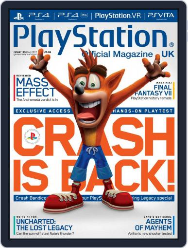 Official PlayStation Magazine - UK Edition (Digital) May 1st, 2017 Issue Cover