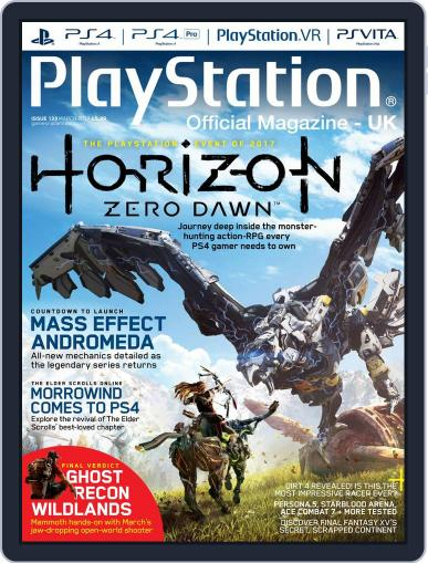 Official PlayStation Magazine - UK Edition (Digital) March 1st, 2017 Issue Cover