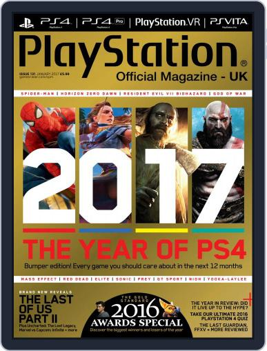 Official PlayStation Magazine - UK Edition (Digital) January 1st, 2017 Issue Cover