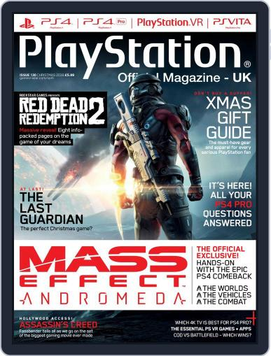 Official PlayStation Magazine - UK Edition (Digital) December 15th, 2016 Issue Cover