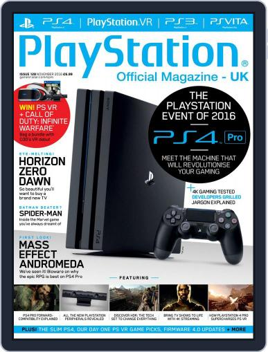 Official PlayStation Magazine - UK Edition (Digital) November 1st, 2016 Issue Cover