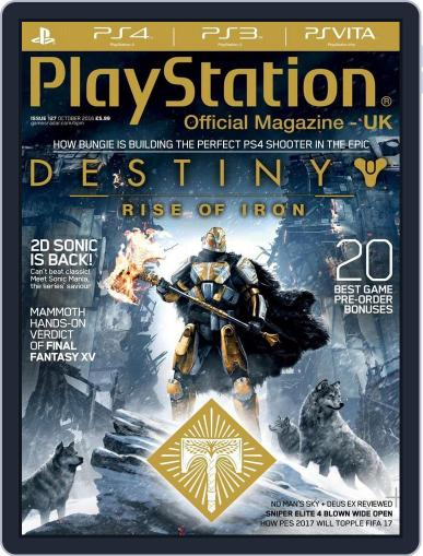 Official PlayStation Magazine - UK Edition (Digital) October 1st, 2016 Issue Cover