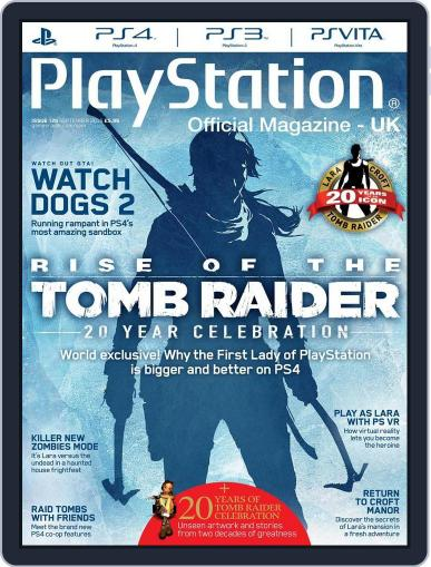 Official PlayStation Magazine - UK Edition (Digital) August 2nd, 2016 Issue Cover