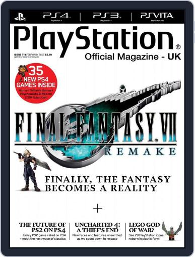 Official PlayStation Magazine - UK Edition (Digital) January 15th, 2016 Issue Cover