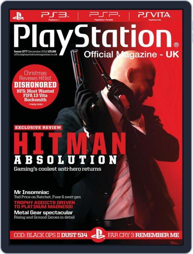 Official PlayStation Magazine - UK Edition (Digital) December 1st, 2012 Issue Cover