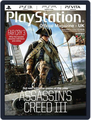 Official PlayStation Magazine - UK Edition (Digital) November 1st, 2012 Issue Cover