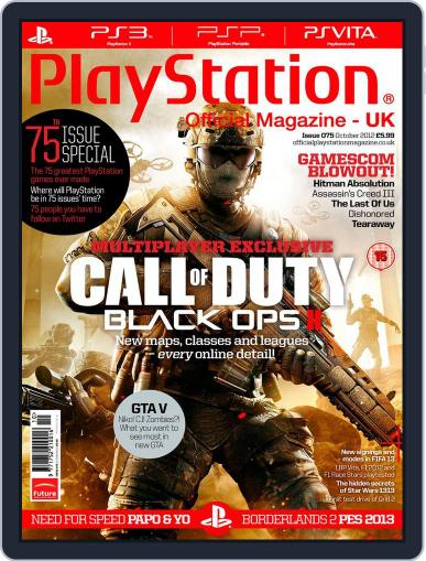 Official PlayStation Magazine - UK Edition (Digital) October 1st, 2012 Issue Cover