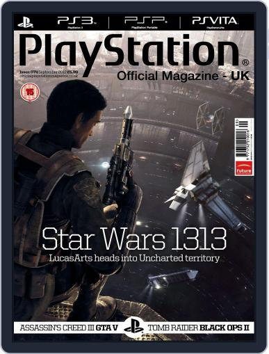 Official PlayStation Magazine - UK Edition (Digital) August 8th, 2012 Issue Cover