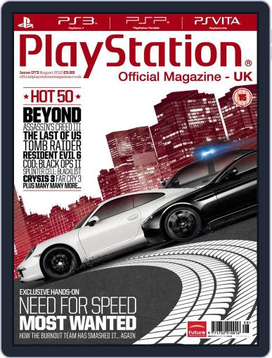 Official PlayStation Magazine - UK Edition (Digital) July 12th, 2012 Issue Cover