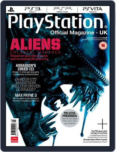 Official PlayStation Magazine - UK Edition (Digital) May 1st, 2012 Issue Cover