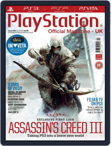Official PlayStation Magazine - UK Edition (Digital) March 24th, 2012 Issue Cover