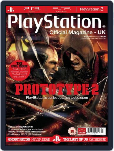 Official PlayStation Magazine - UK Edition (Digital) March 1st, 2012 Issue Cover