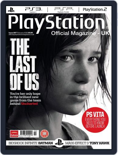 Official PlayStation Magazine - UK Edition (Digital) February 2nd, 2012 Issue Cover