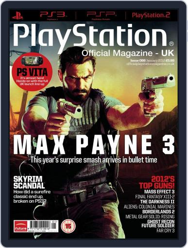 Official PlayStation Magazine - UK Edition (Digital) January 4th, 2012 Issue Cover