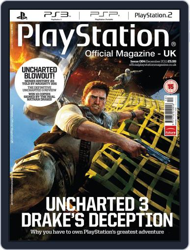 Official PlayStation Magazine - UK Edition (Digital) December 7th, 2011 Issue Cover