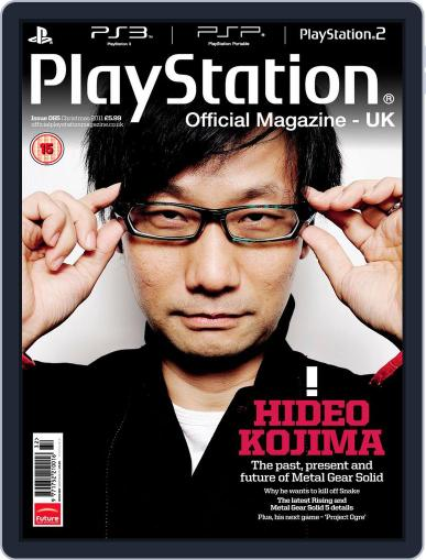 Official PlayStation Magazine - UK Edition (Digital) December 1st, 2011 Issue Cover