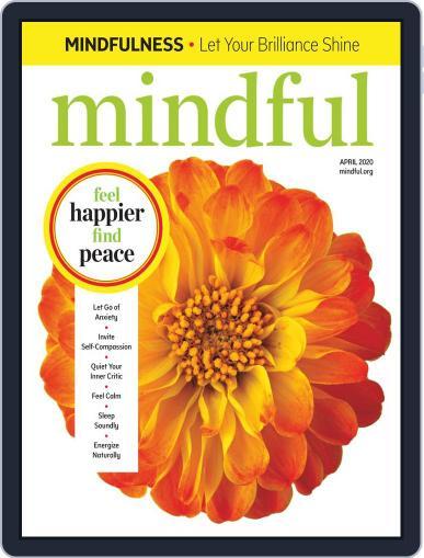 Mindful April 1st, 2020 Digital Back Issue Cover
