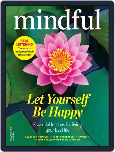 Mindful December 1st, 2019 Digital Back Issue Cover
