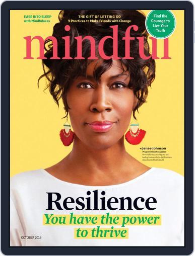 Mindful October 1st, 2019 Digital Back Issue Cover