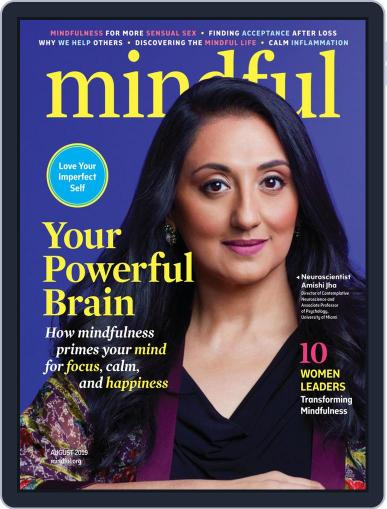 Mindful August 1st, 2019 Digital Back Issue Cover