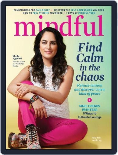 Mindful June 1st, 2019 Digital Back Issue Cover