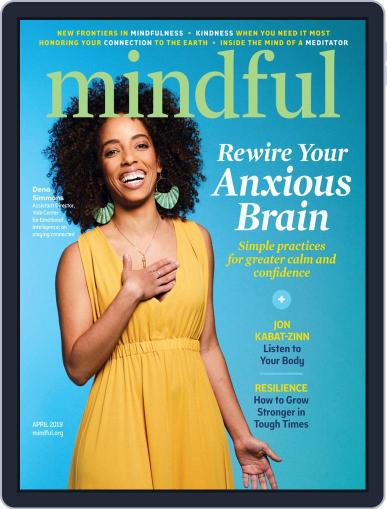 Mindful April 1st, 2019 Digital Back Issue Cover