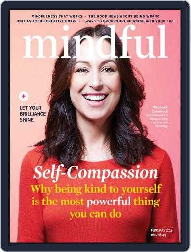 Mindful February 1st, 2019 Digital Back Issue Cover