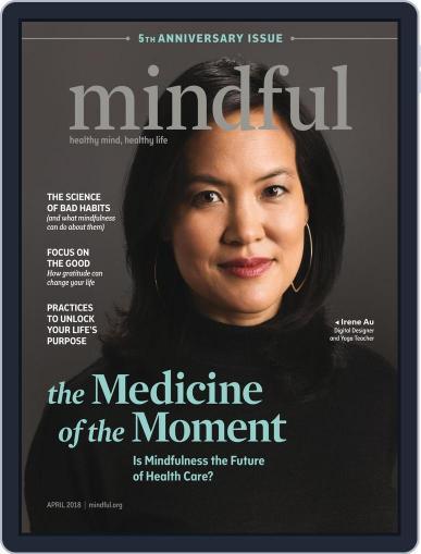 Mindful April 1st, 2018 Digital Back Issue Cover