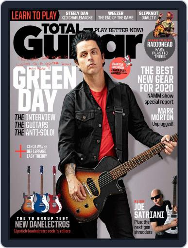 Total Guitar March 1st, 2020 Digital Back Issue Cover