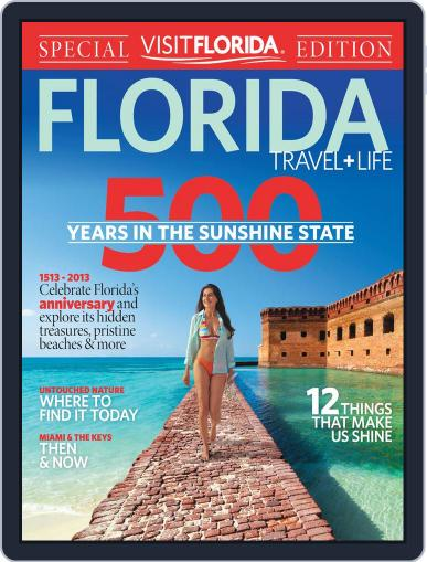 Florida Travel And Life (Digital) February 9th, 2013 Issue Cover