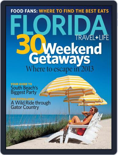 Florida Travel And Life (Digital) December 22nd, 2012 Issue Cover