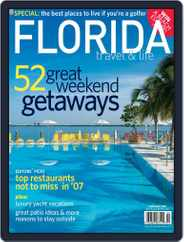 Florida Travel And Life (Digital) Subscription December 8th, 2006 Issue