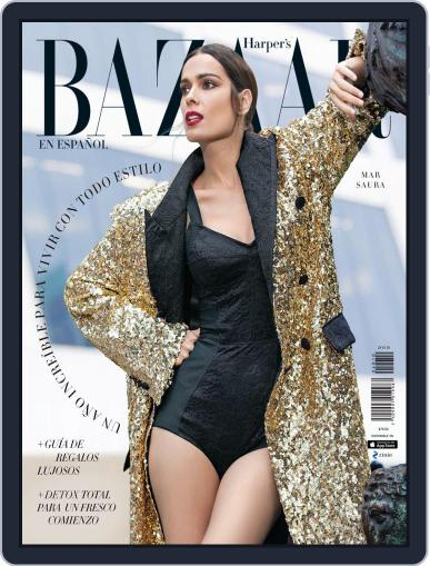 Harper's Bazaar México December 1st, 2019 Digital Back Issue Cover